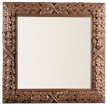Bayleaf mirror - square - antique