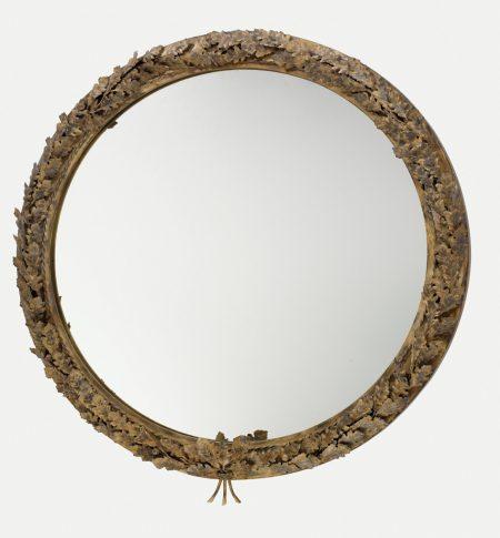 Oak Branch mirror - Circular