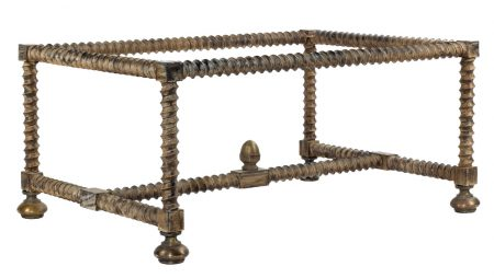 Twisted Leg coffee table - Antique
