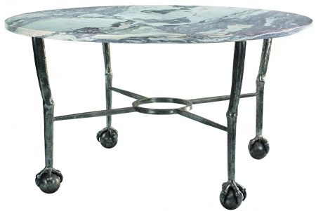 ball and claw table - round