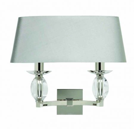 Coco Wall light - 2 Arm with Oval shade
