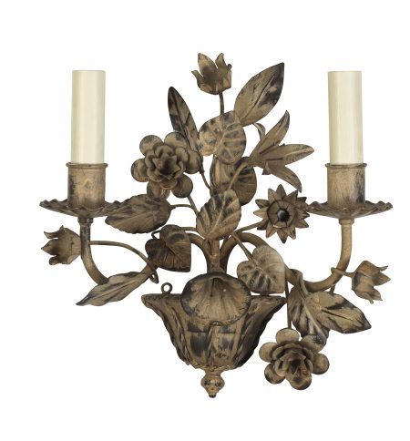 flora wall light short antique
