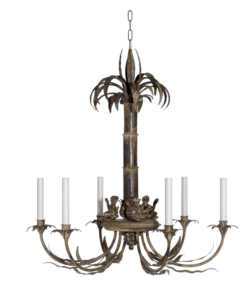 Palm tree and monkey chandelier richard taylor designsrichard palm tree and monkey chandelier richard taylor designsrichard taylor designs aloadofball Images