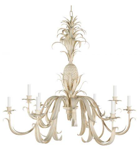 Pineapple chandelier - 8 arm