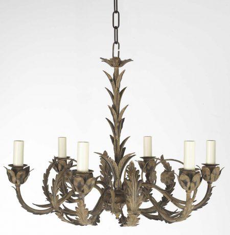 crillion 6 arm chandelier