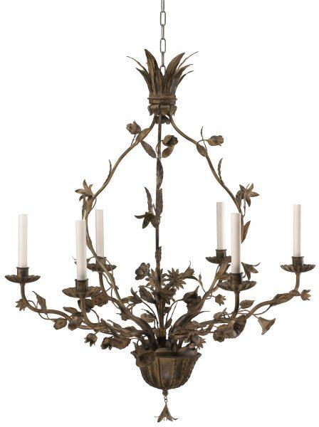 flora chandelier 6 arm