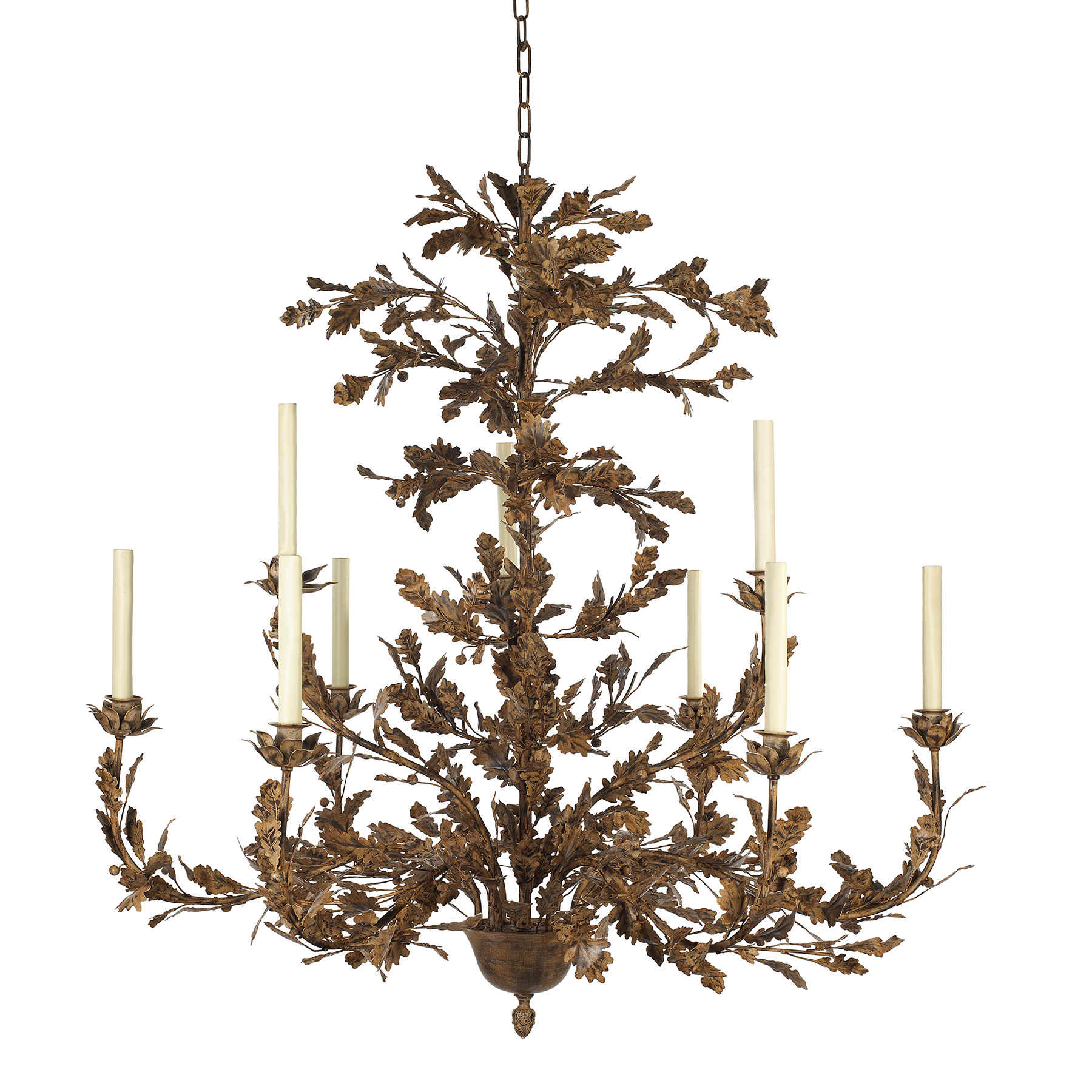 Oak Branch Chandelier 9 Arm Richard Taylor
